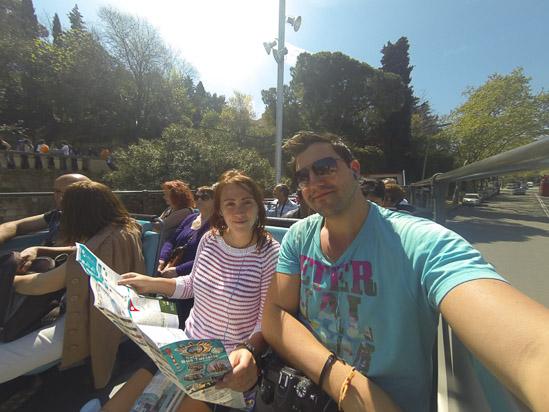 Touring Barcelona, Spain