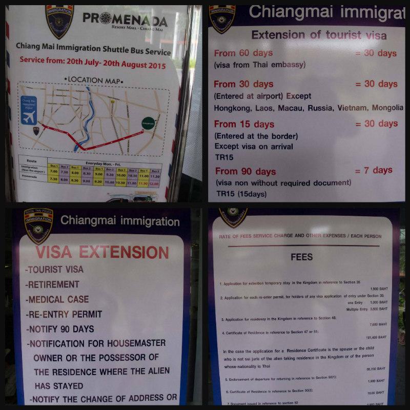 new visa extension office chiang mai