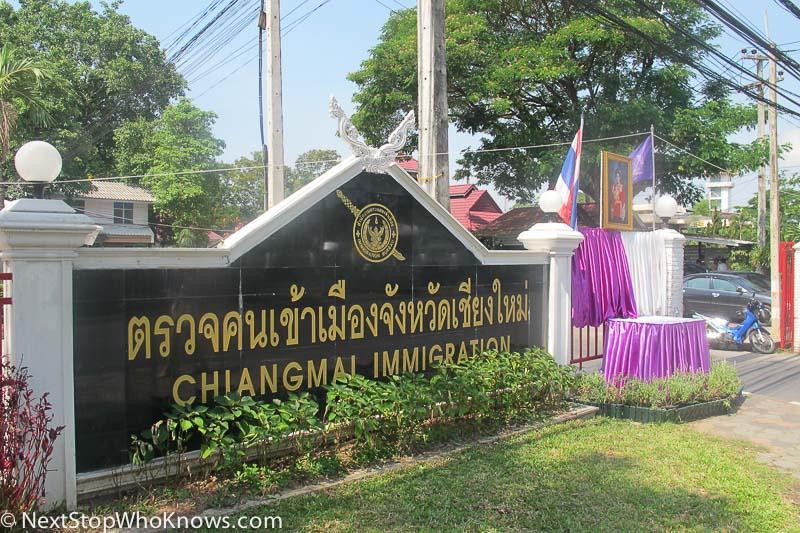 visa extension chiang mai