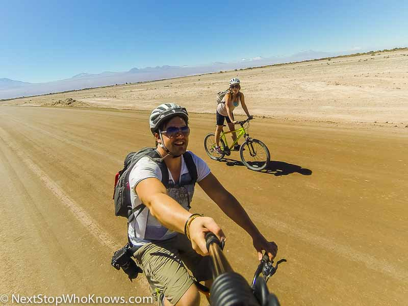 cycling in the atacama desert
