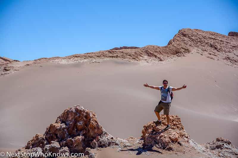 sand dunes in atacama
