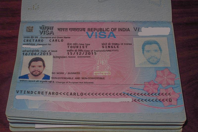 getting an indian visa