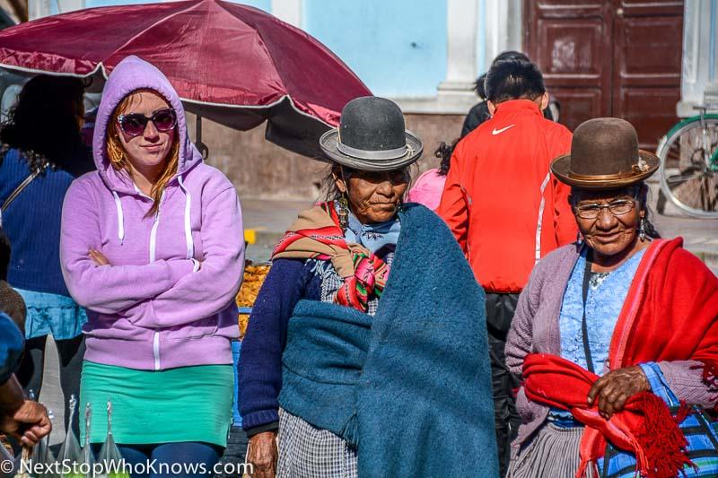 bolivian cholitas