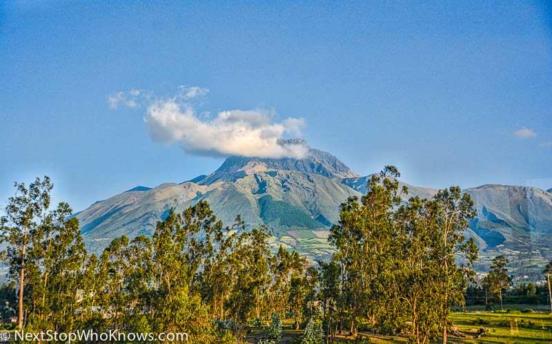 Cotacachi - a quaint Ecuadorian town set between two volcanoes