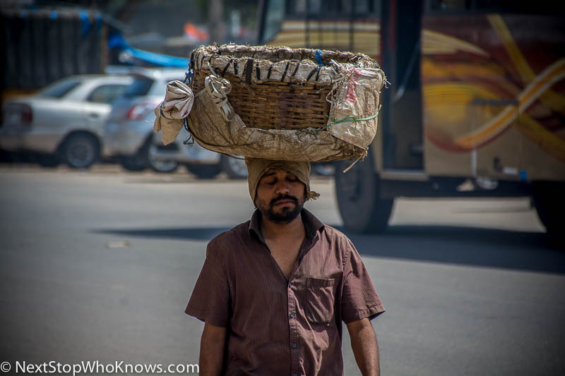 first impressions of india