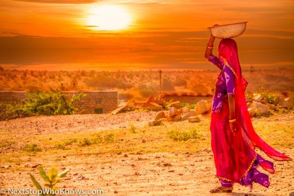 desert lady india