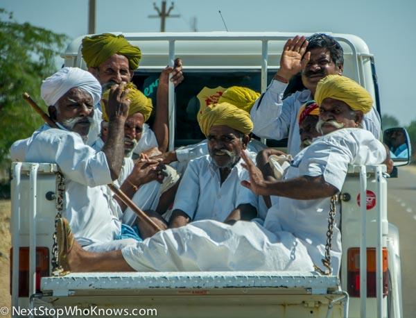 old men india
