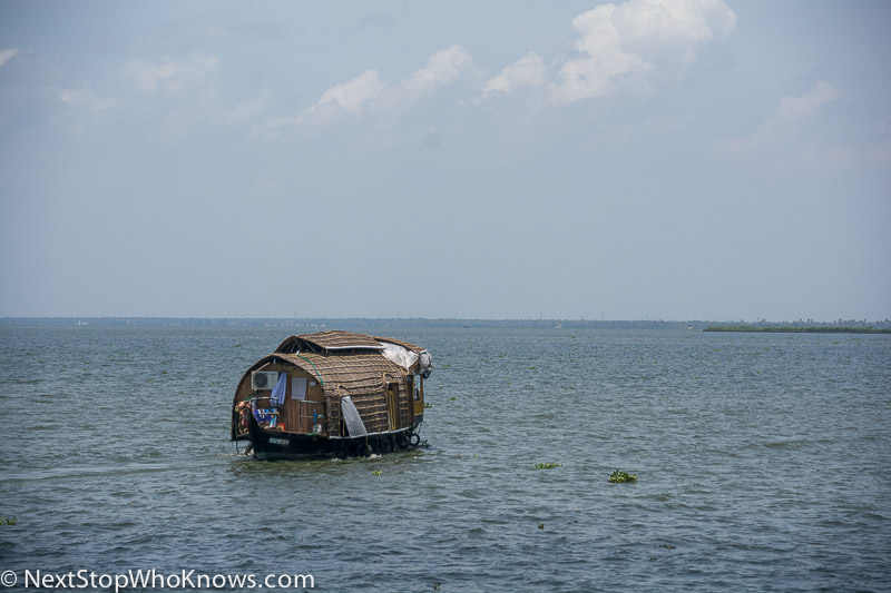boat on the backwaters