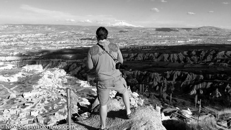 cappadocia landscape viewpoint