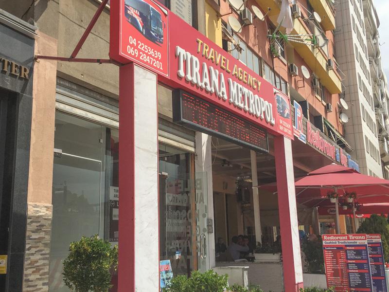 tirana albania to ohrid macedonia