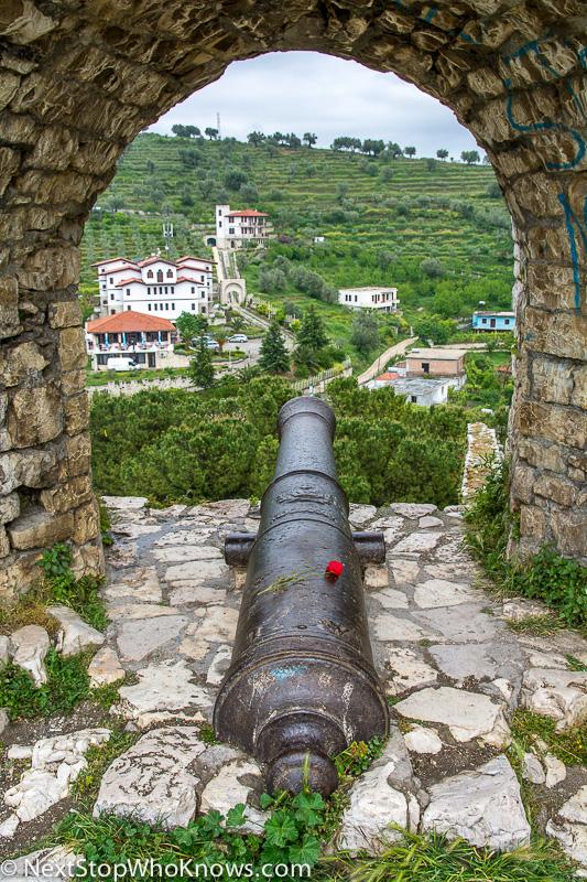 visiting berat castle