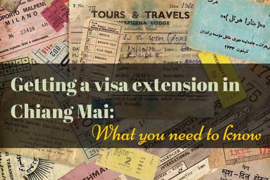 visa extension chiang mai