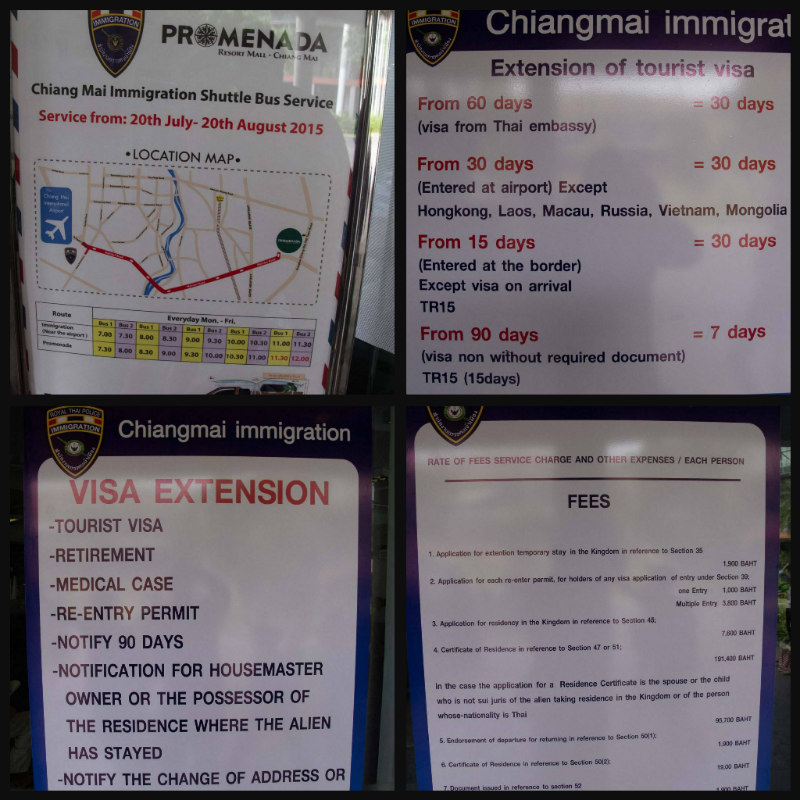 new visa extension office chiang mai