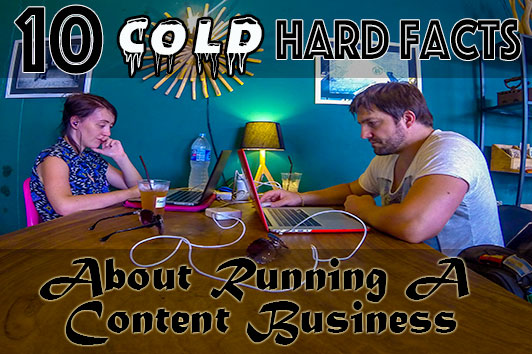 running a content business