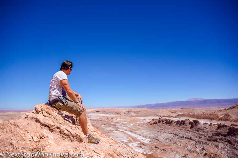 viewpoint in atacama desert