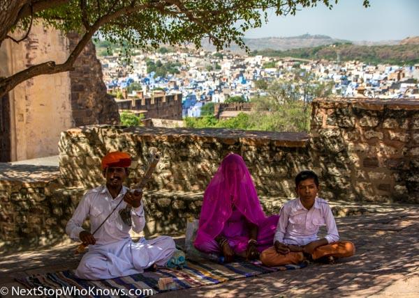 family in jodhpur