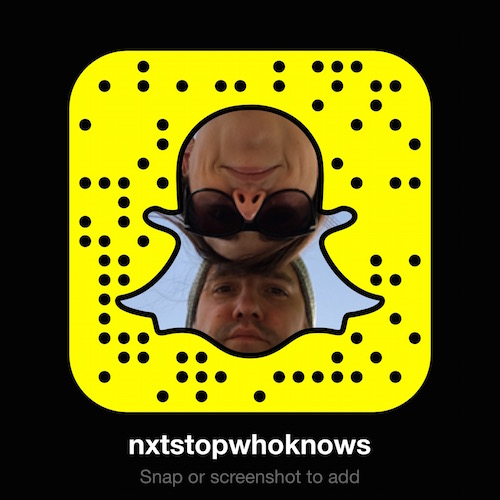 join us on snapchat