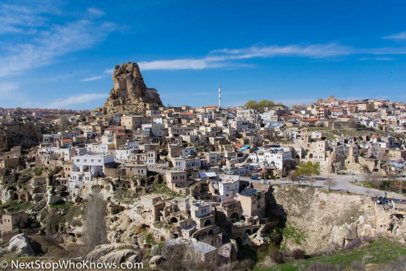 landscape in cappadocia